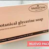 "Botanical glycerine soap de Medical Soap "" Crema solida "" alivio dermatitis"